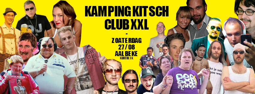 KITSCH CLUB 2016 AFFICHE