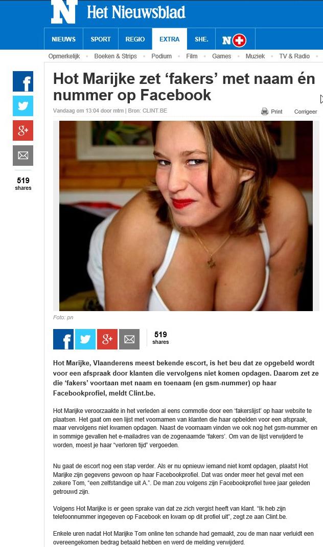 Nieuwsblad Fakers 30-07-2016