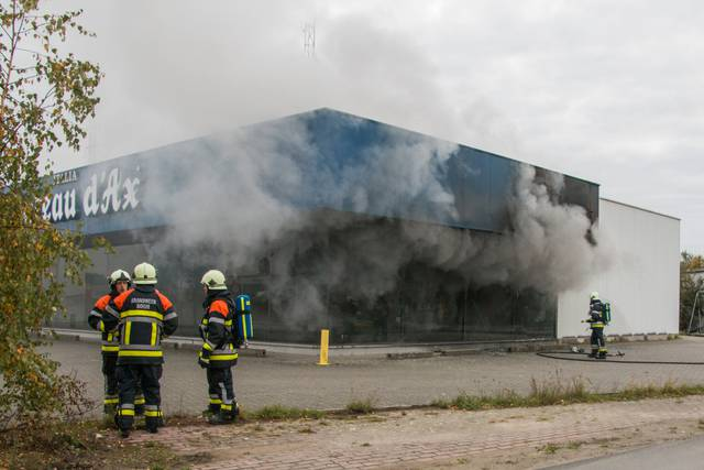 Chateau d'Ax brand Aaartselaar oktober 2014
