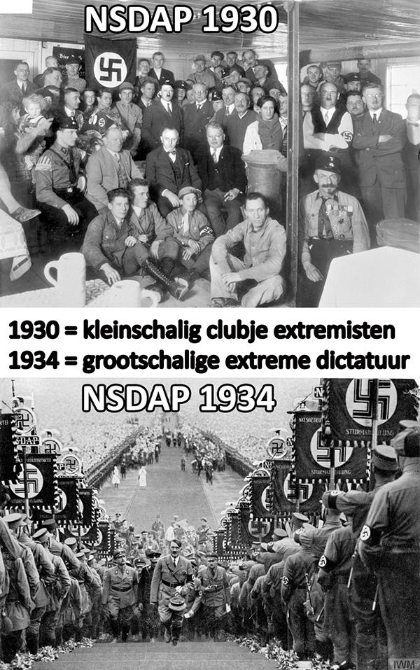 NSDAP 1930 1934
