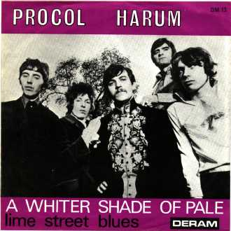 A Whiter shade of Pale Cover