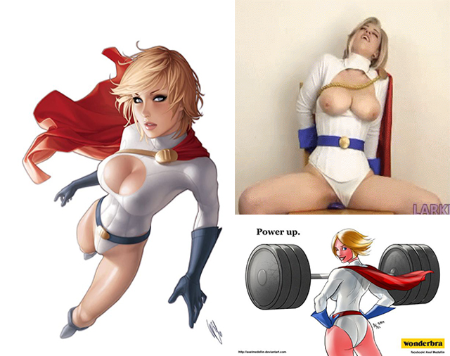 Powergirl collage x