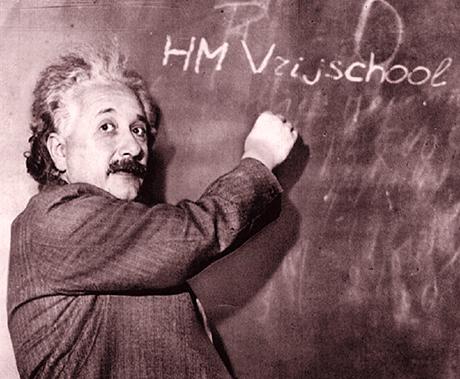 Einstein kleur